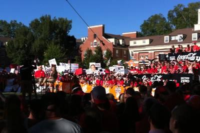 Photo ESPN College Gameday in Athens- UGA vs LSU