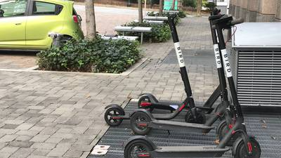 Scooters, outlawed in Athens, returning to Atlanta