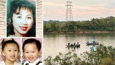 SUV of Ohio mom, 2 kids missing since 2002 found in river