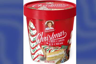 Little Debbie Christmas tree cakes ice cream coming to Walmart on Nov. 1