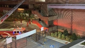Fire contained at Tate Student Center at UGA