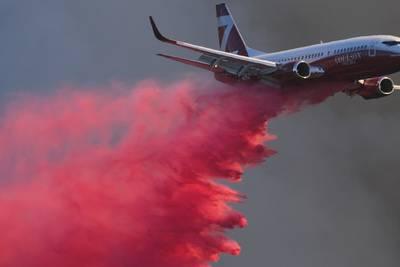 Alisal Fire: Photos capture devastation as blaze threatens homes, former Reagan ranch