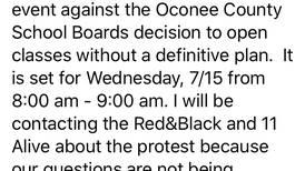 Oconee Co BOE updates school reopening plan