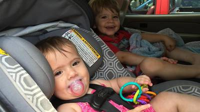 Car seat safety check event in Commerce