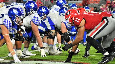 UGA vs Kentucky Game Photos 101919
