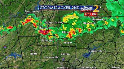 Stormy weather a possibility for Athens, NE Ga