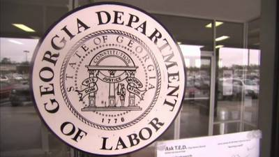 Labor Dept reports NE Ga jobless rate