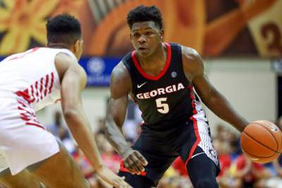 UGA Basketball at Auburn game time moved up to Noon