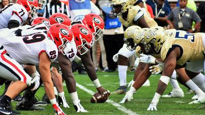 PHOTOS: Dawgs pound Jackets in Atlanta